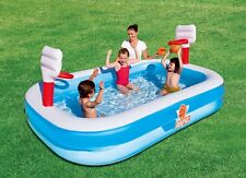 Bestway Inflatable Kids Basketball Swimming Play Pool Summer Fun Family Game