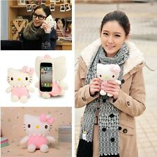 Cute 3D Hello Kitty Plush Toy Doll Case Cover For Various HuaWei Cell Phones