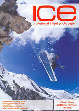 ICE Gloss / Matt Photo Paper 128gsm to 260gsm Single or Double Sided A4 6x4 7x5