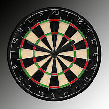 DARTBOARD round clock - can be customised with names / numbers or own design