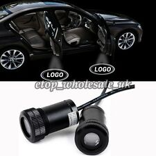 2x Car Door Step LED Welcome Laser Projector Logo Shadow Lights For Honda/Acura
