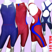 NWT NSA N511 COMPETITION TRAINING RACING SHARKSKIN KNEESKIN ALL SIZE <FREE SHIP>