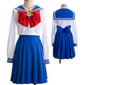 Sailor Moon Usagi School Uniform Cosplay Costume NEW