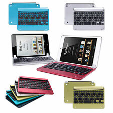 Aluminum Magnetic Case Stand Bluetooth Keyboard Dock for Apple iPad Mini 3 2 1