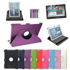 360 Rotating Leather Case Cover For Samsung Galaxy Tab 2 10.1 P5113 P5100 P5110