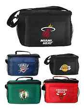 New 2014 NBA Basketball Licensed Lunch Bag -Insulated Box Tote - 6 Pack Cooler