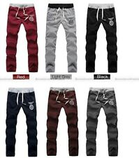 Men Fashion Sports Gym Jogging Casual Long Pants Stretch Harem Trousers