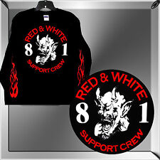 """HELLS ANGELS BIG HOUSE CREW """"LAUGHING DEVIL"""" SUPPORT T-SHIRT - LONG SLEEVE"""