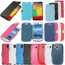 Flip Leather Magnetic Hard Case Cover For Samsung Galaxy S5/4/3 Mini Duos Note 3