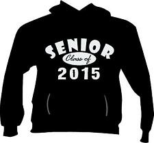 SENIOR Class of 2015 ,16,17,18 -Pullover Hoodie Fleece S - 5x! Customize Colors