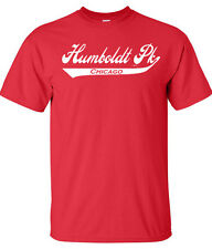 HUMBOLDT PARK CHICAGO ILLINOIS IL LAND OF LINCOLN WINDY CITY BULLS SS T-SHIRT