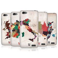 HEAD CASE PATTERNED MAPS PROTECTIVE COVER FOR HTC ONE V
