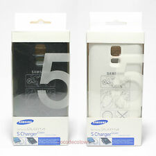Samsung Galaxy S5 Wireless Charging Battery Back Cover S Charger Tracking No.