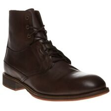 New Mens SOLE Brown Dobins Leather Boots Modern Classics Lace Up