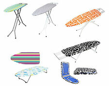 Steel Iron Board Large With Legs White Wide Table Top Foldable Ironing Boards