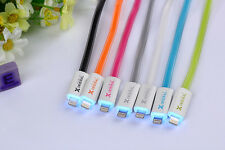 Hot Sale Luminous 4 Pin Data Cable IOS8 Compatible for Apple iPhone 6 5 5s