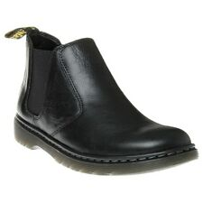 New Mens Dr. Martens Black Conrad Leather Boots Chelsea Pull On