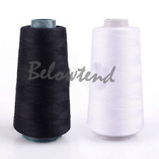 3000M Yards Sewing Machine Industrial Polyester Thread Metre Spools Cones