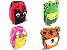 SMALL KIDS CHILDRENS FUN DESIGN HAND HELD LUNCH DINNER BAG SCHOOL BAG DINNER