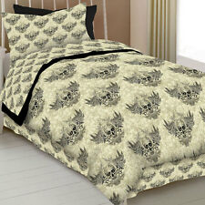 Winged Skull Comforter Collection