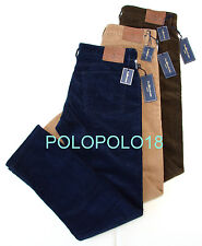 New $145 Polo Ralph Lauren Corduroy 5 Pocket Pants 31 32 33 34 35 36 38