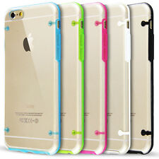 Soft Silicone Case Screen Protector Cover For iPhone6 Transparent 4.7inches New