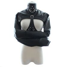 Womens Open Cup Cupless Bondage Strait Jacket Body Harness Gay Fetish Restraint