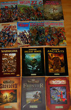 Warhammer Historical Ancient Battles WAB Warmaster *Select 1 Book War Game Rules