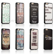 Life Inspirational Quotes Hard Back Case Skin Cover For Apple iphone4 4s 5 5c 5s