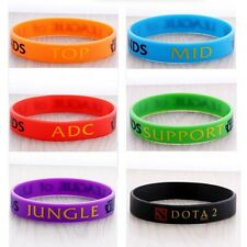 League of Legends LOL Colorful Theme Silicone Wristbands Bracelets Hand catenary