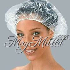 20×50×100×Disposable Clear Spa Hair Salon Home Shower Bathing Elastic Caps Hat O