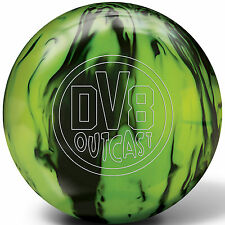 DV8 Outcast Bowling Ball NIB 1st Quality Black Citron