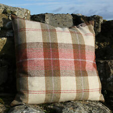 Wool Plaid Cushion Cover - RossTweed Heritage Langley