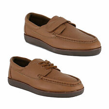 Womens Bowls Bowling Shoes Velcro Lace Up Light Weight Sizes 3 4 5 6 7 8 9 Brown