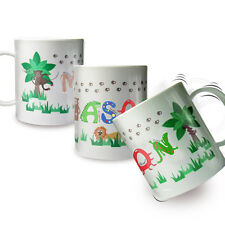 NEW PERSONALISED MUG PICK FROM 10 DESIGNS BANG ON THE DOOR COTTON ZOO CHRISTMAS