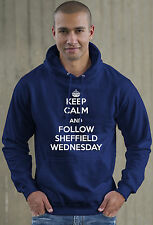 Keep Calm and Follow Sheffield Wednesday football Hoodie