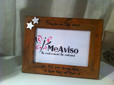 Personalised Friends poem Picture Frame Gift Present love wedding photo birthday