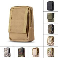 Military Small Bag Durable Outdoor Investigate Tools Pouch Velcro Zippered Bag
