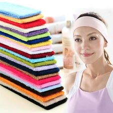 New Elastic Hair Headband Sports Stretch Wide Sweetband Headbands Softball Gym