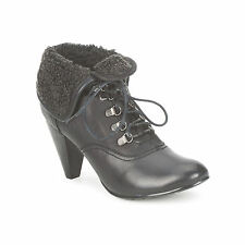 MODA IN PELLE 'BASHFUL' BLACK ANKLE BOOTS -  NEW AND BOXED