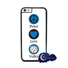 Peace Love and Volleyball  - Case for iPhone 6, Rubber Cover