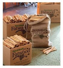 Fatwood Fireplace Firestarter Fire Wood Pine Resin Kindling Wood Stoves Campfire