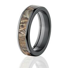 Max 4 Realtree Camo Rings, Camouflage Wedding Rings