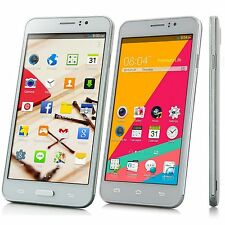 "Unlocked 5.5"" Android 4.4 2Sim/2Core Cell Phone AT&T 3G/GSM WCDMA GPS Smartphone"