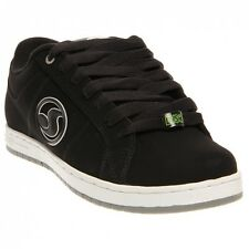 DVS MASTIFF Mens Skate Shoes (NEW) Size 8.5-11 BLACK WHITE NUBUCK Free Shipping!