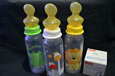 BOTTLE FOR ADULT BABY - INCLUDES NUK ADULT TEAT - PICK A COLOUR/DESIGN!!