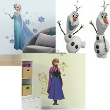 Disney FROZEN Family ELSA ANNA & OLAF Giant Wall Decal Stickers Decoration Set
