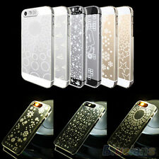 "New Vogue Flash Up Light Cover Skin Case For iPhone 4 4s 5 5s 6 4.7"" Plus 5.5"""