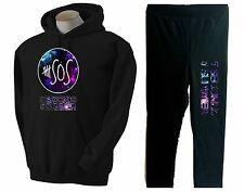 GALAXY 5 SECONDS OF SUMMER~5 SOS~HOODIE + SWEATPANTS COMBO~ SMALL-THRU XL~Galaxy