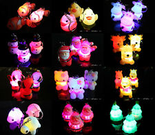 1pc Flash LED Light Lamp Flashlight Keychain Christmas Gift Kids Toy Party Favor